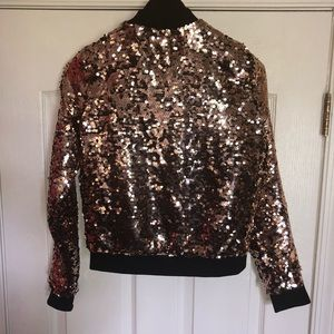 9471189a9 Sequin bomber jacket